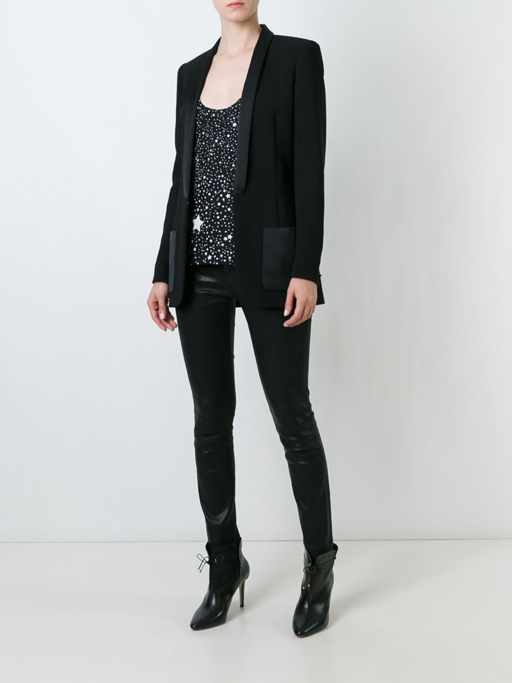 barbara bui_black blazer