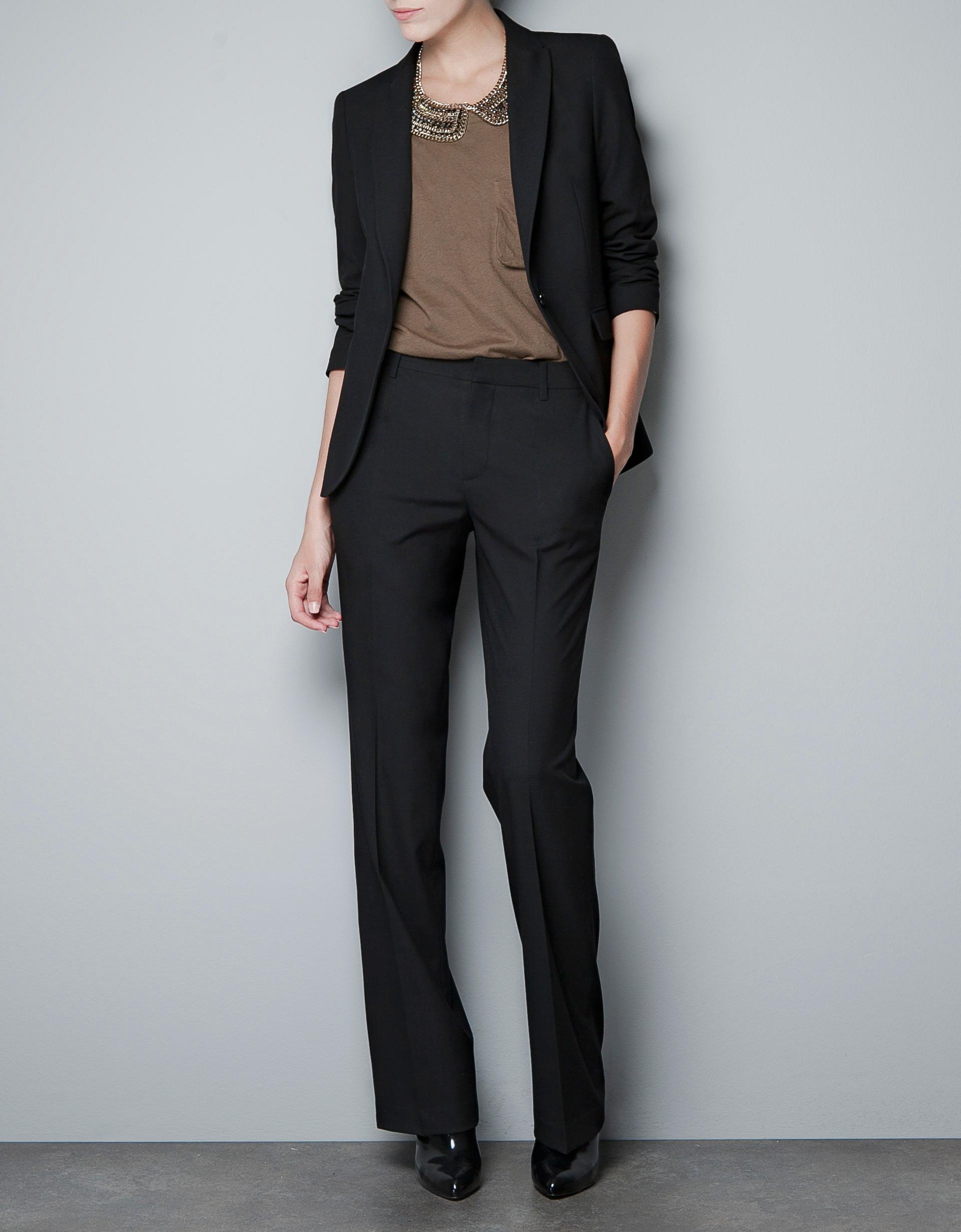 Zara-Cool-Wool-Blazer-thecolorharmony