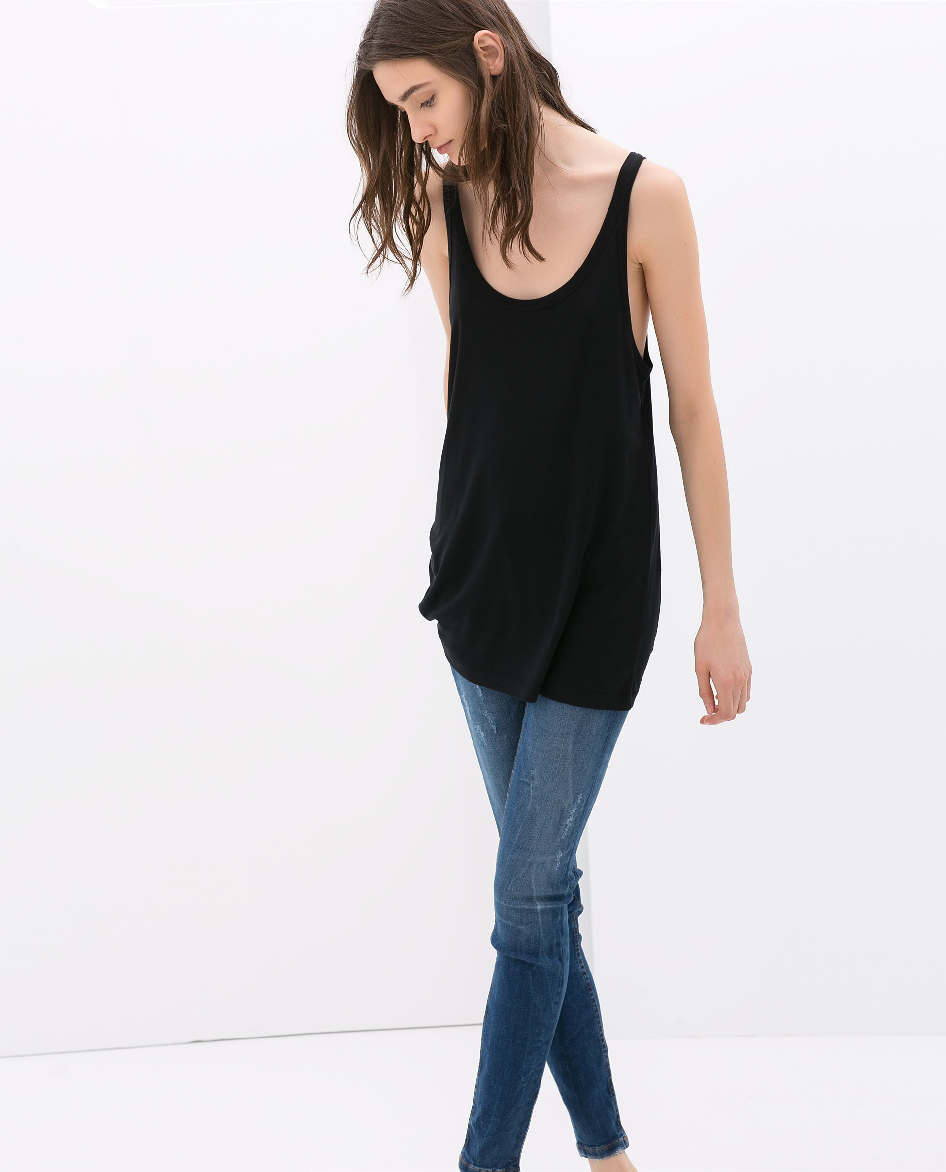 zara_long_tank_top_women_black_thecolorharmonydotcom
